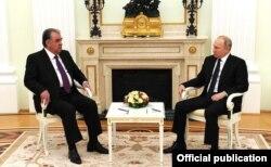 Moskwada Putin bilen Rahmonyň gepleşigi, 2021-nji ýylyň 8-nji maýy