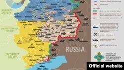 Вазъ дар ҷабҳаҳои Украина то 7 сентябр
