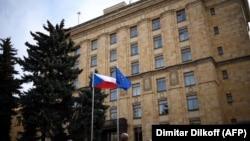 Ռուսաստան - Մոսկվայում Չեխիայի դեսպանատունը, արխիվ