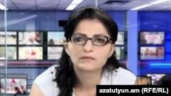 Адвокат Лусине Саакян в студии «Азатутюн ТВ»