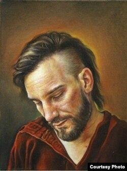 Портрет на францускиот мултимедијален уметник Рено Рулман.