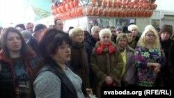 Ілюстрацыйнае фота: сход прадпрымальнікаў у Віцебску, 5 студзеня 2016 году