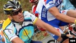 Один із членів команди «Астана», до складу якої входить українець Гривко, на «Тур де Франс» в 2009 році