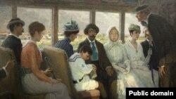 Франсіс Луіс Мора, «Загарадны трамвай» (1916)