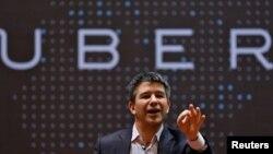 Трэвис Каланик, глава компании Uber