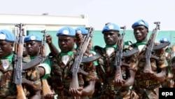 Міратворцы Афрыканскага Зьвязу ў Паўночным Дарфуры, Судан, 2007