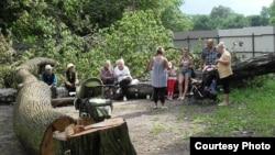 Ялтинский парк - повторение Химкинского леса?
