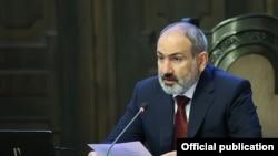 Armenia -- PM Pashinian addresses Government Session. 08 Sept., 2021