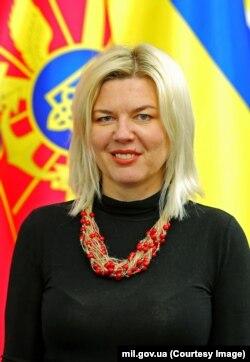 Аліна Фролова, заступниця міністра оборони України