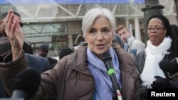 Лидер Партии зеленых США Джилл Стайн