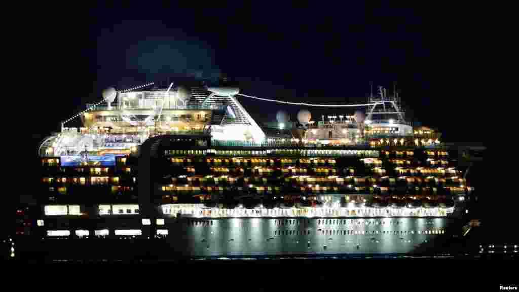 20 января лайнер Diamond Princess отправился из японского города Йокогама в двухнедельный круиз маршруту Кагосима – Гонконг – Окинава, который должен был завершиться 4 февраля. Однако выяснилось, что один из пассажиров, который сошел на берег в Гонконге, был заражен коронавирусом