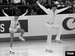 Лиллехаммер қаласында өткен 17-қысқы олимпиададан көрініс. Норвегия, 26 ақпан 1994 жыл.