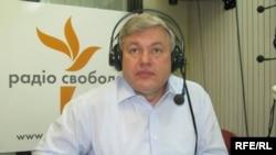 Олександр Чалий у студії Радіо Свобода