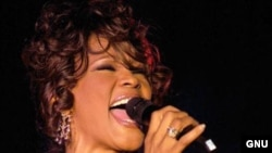 U.S. -- Singer Whitney Houston, 2008