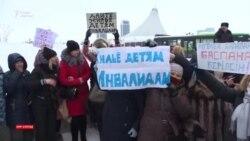 «Токаев! Токаев!» Десятки матерей вновь требовали встречи с президентом