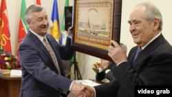 Миңтимер Шәймиев һәм Рафаэль Хәкимов