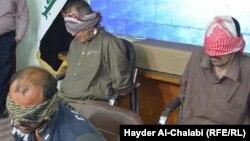 """عناصر خلية """"داعش"""" المعتقلون في بابل"""