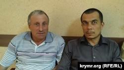 Микола Семена та адвокат Еміль Курбедінов