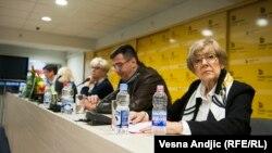 Sa komemoracije Nebojši Popovu, foto: Vesna Anđić