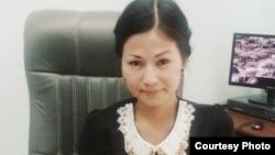 Алматинская студентка Улжалгас Ниязбекова.