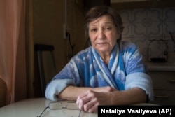 Faina Gavrilova says her son, Ruslan, who is thought to have died fighting in Syria, was simply down on his luck and wanted to earn money.