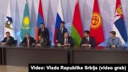 Potpisivanje sporazuma u Moskvi