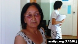 Адвокат Зинаида Мухортова. Балқаш, 16 тамыз 2013 жыл.