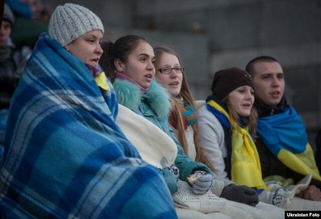 Євромайдан, Київ, 27 листопада 2013 року