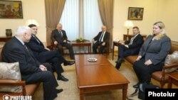 Էդբվարդ Նալբանդյանի հանդիպումը ՄԽ համանախագահների հետ, Երևան, 8-ը փետրվարի, 2018 թ․