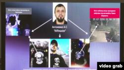 Графика МВД Украины. Андрей Антоненко – новый подозреваемый в причастности к убийству Павла Шеремета