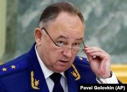 Pomoćnik ruskog državnog tužioca Nikolaj Atmonjev u Moskvi, 19. november 2018