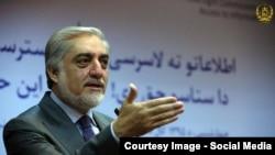 عبدالله عبدالله رئیس اجرائیه حکومت افغانستان