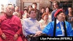 """На открытии выставки """"Репрессированный буддизм"""""""