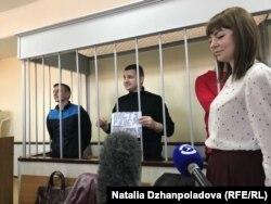 Одно из заседаний по продлению меры пресечения украинским морякам