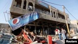 Архивска фотографија- бомбашки напад во Багдад.