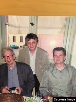 Germany - Eric Hobsbawm, Vladimir Tismaneanu, Timothy Snyder, Potsdam, May 2005