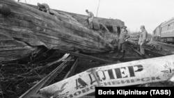 30 лет крупнейшей в СССР трагедии на железной дороге