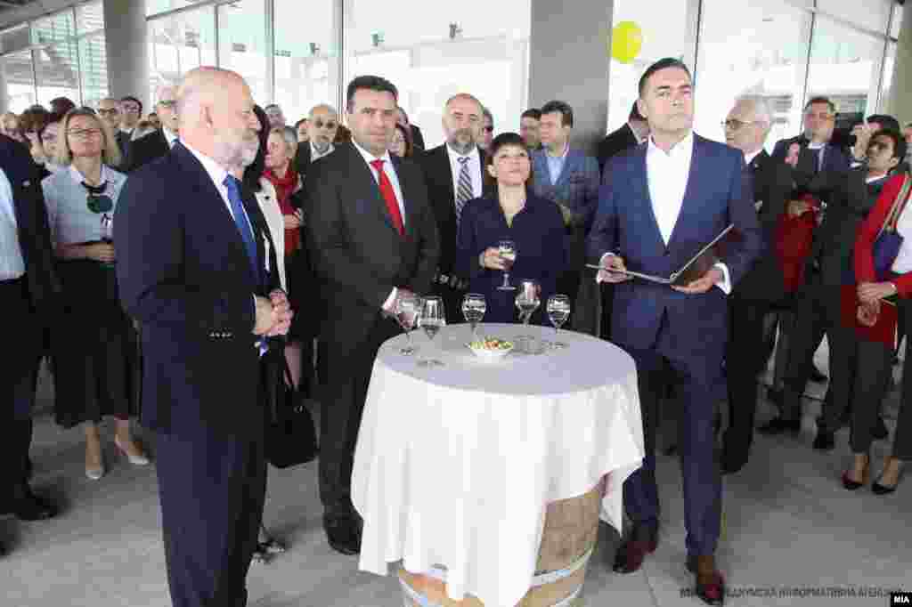 МАКЕДОНИЈА - Во Музејот за современа уметност се одржа традиционалната прослава по повод Денот на МНР - 29 април. Годинешната јубилејна прослава ја одбележа 50-годишнината од формирањето на Бирото за односи со странство во 1969 година, претходник на современото Министерство за надворешни работи.