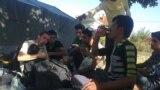 Refugiați la Dimitrovgrad, lîngă frontiera cu Bulgaria, 17 septembrie 2015