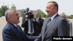 Vasif Talıbov və İlham Əliyev