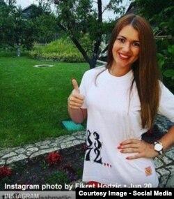 Sporna fotografija sa Instagram profila Fikreta Hodžića