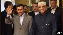دیدار آصفعلی زرداری از تهران در اوائل تیرماه ۸۹