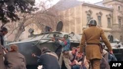 Уличные бои в Бухаресте, 24 декабря 1989