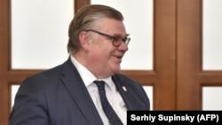 Финскиот министер за надворешни работи Тимо Соини.