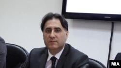 Претседателот на Агенцијата за аудио и аудиовизуелни медиумски услуги Зоран Трајчевски.