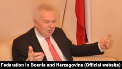 The Russian ambassador to Bosnia-Herzegovina, Petr Ivancov