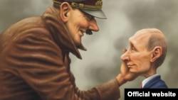 Фрагмэнт карыкатуры пераможцы конкурсу Андрэя Леўчанкі