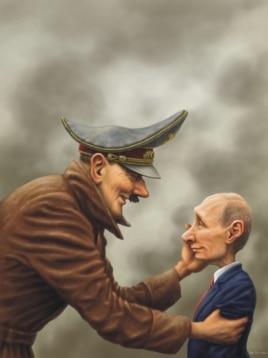 Карикатура победившего на конкурсе Андрея Левченко