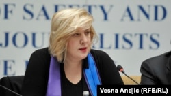 Претставникот на ОБСЕ за слобода на медиумите Дуња Мијатовиќ