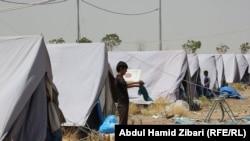 Izbjeglice u kampu, Irak